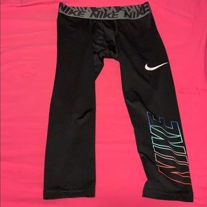 NIKE youth compression leggings